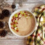 Cauliflower Soup with Gingerbread Spices