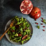 10-Minute Steak Salad with Pomegranate Dressing