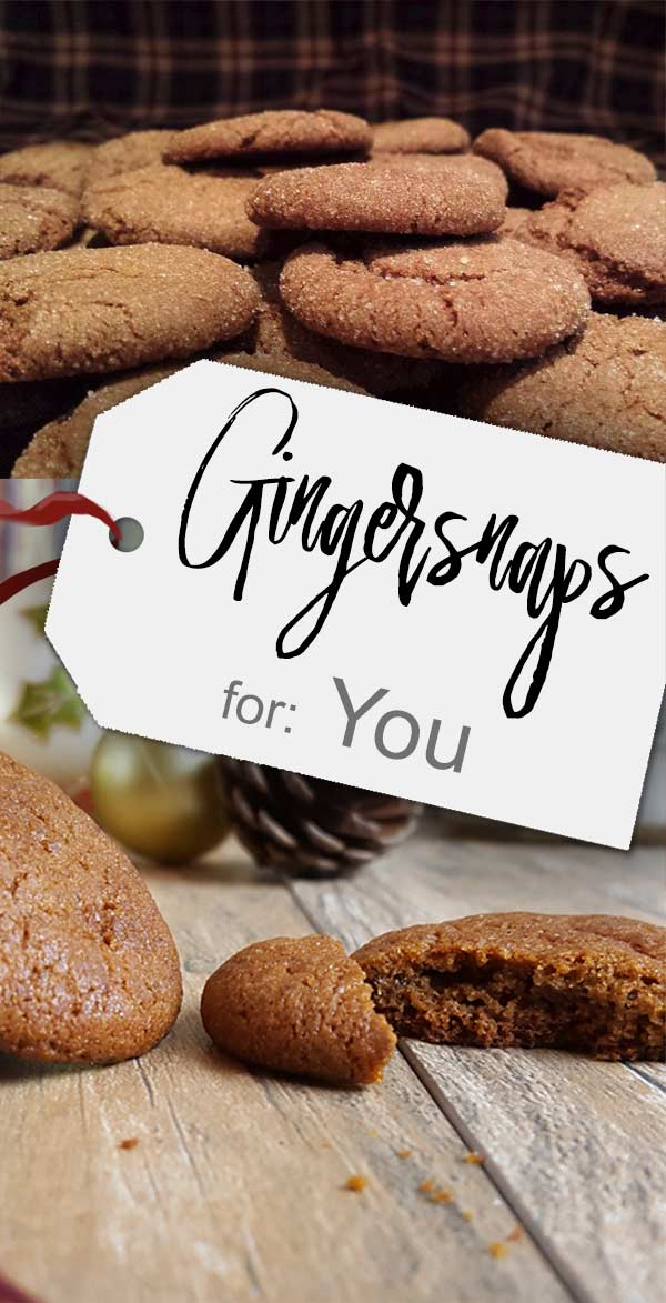 Super crisp & delightfully spicy. Best gingersnaps recipe ever!