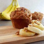 Peanut Butter & Banana Nut Muffins
