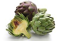 Artichokes in season
