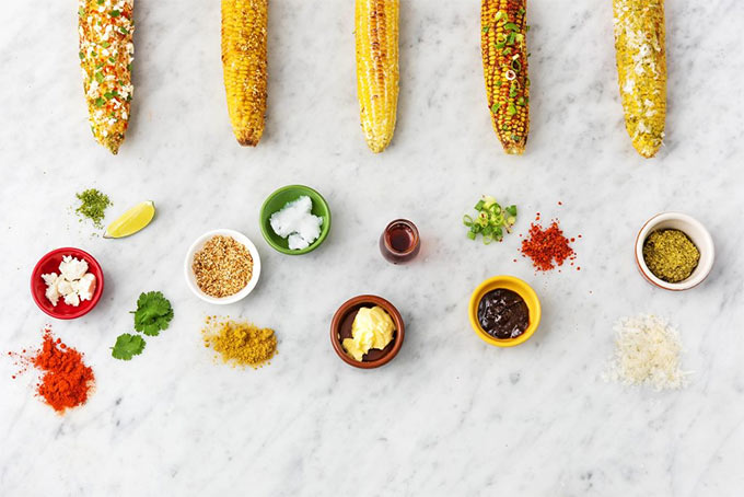 5 ways for corn on the cob