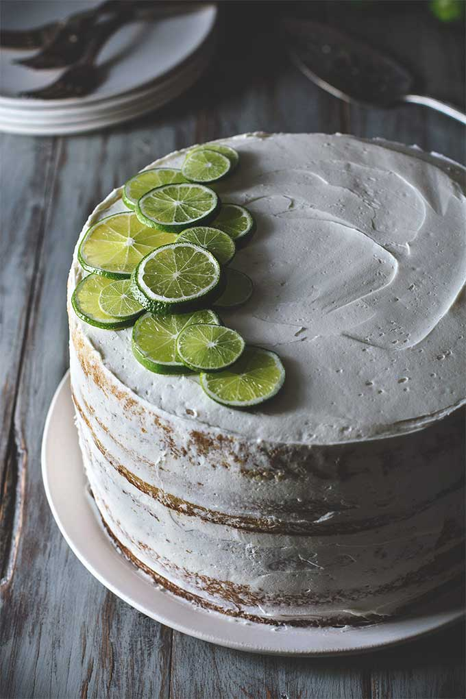 Margarita lime layer cake by Honestly Yum