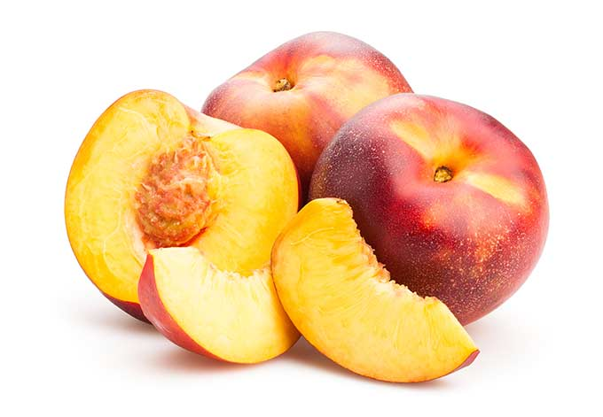 Nectarines are in season from late spring into early fall