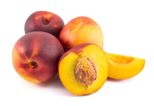 Peaches are in season from late spring through mid fall