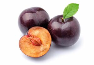 Plums are in season from late spring into mid-fall