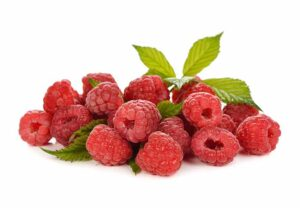 Raspberries are in season from late spring into fall