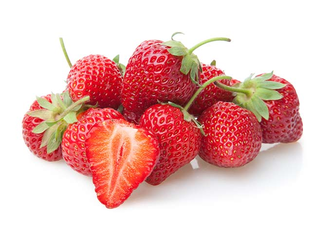 Strawberries are in season from mid-spring through summer and into early-fall.