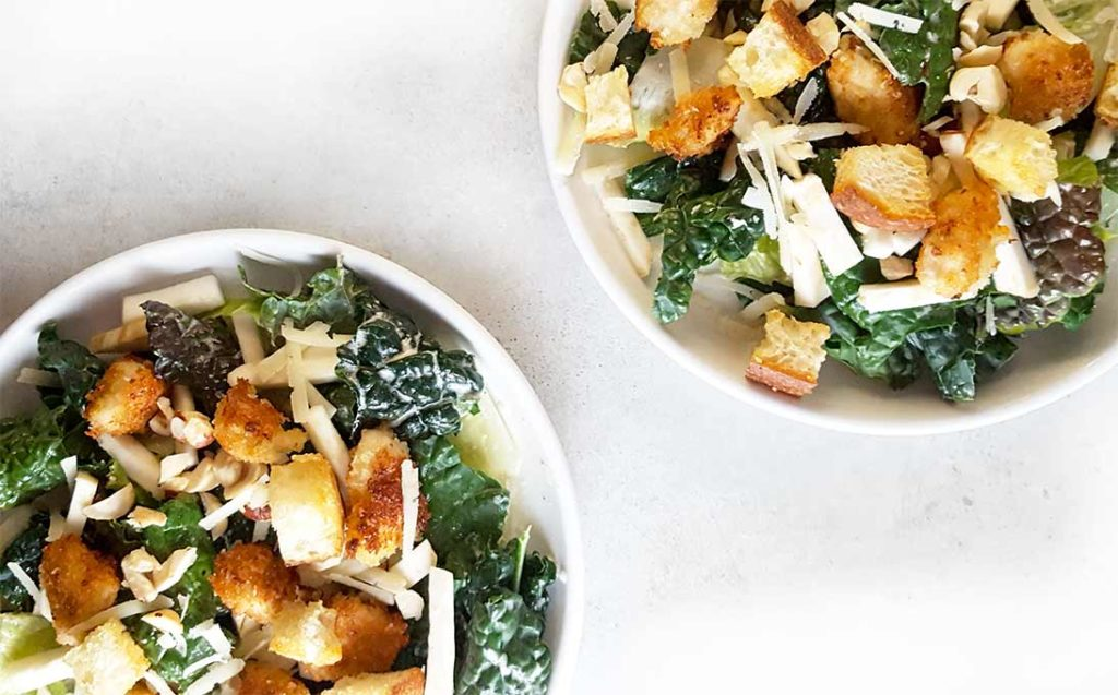 An old classic, jazzed up. It's also packed with nutrients that keep you healthy (to fight off colds in winter!)