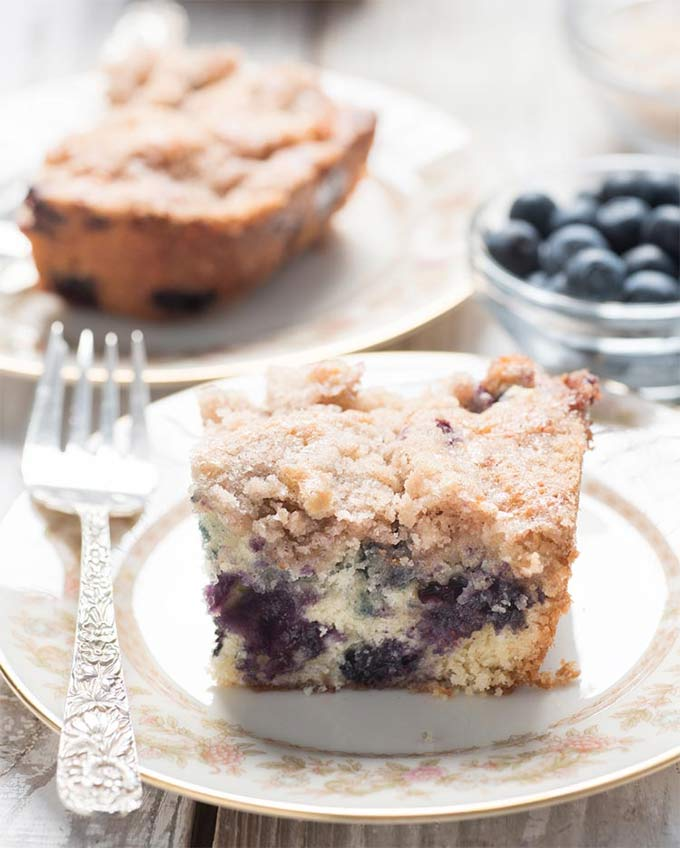 Blueberry cake - recipe by My Wife Can Cook