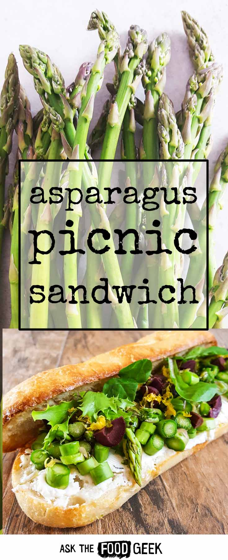 Lunch recipes - a picnic sandwich that holds until lunch time. A great desk lunch to take to work too.