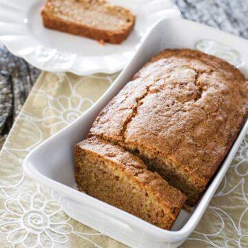 Spiced cantaloupe tea loaf by Jo cooks