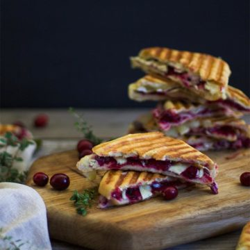 Grilled cheese with cranberries, by My Diary of Us