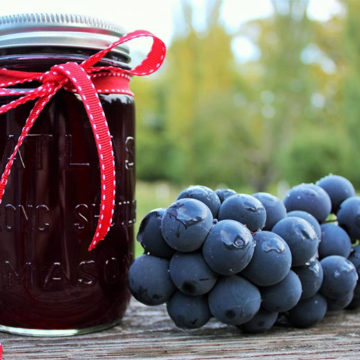 Homemade grape juice recipe by Homemade Food Junkie