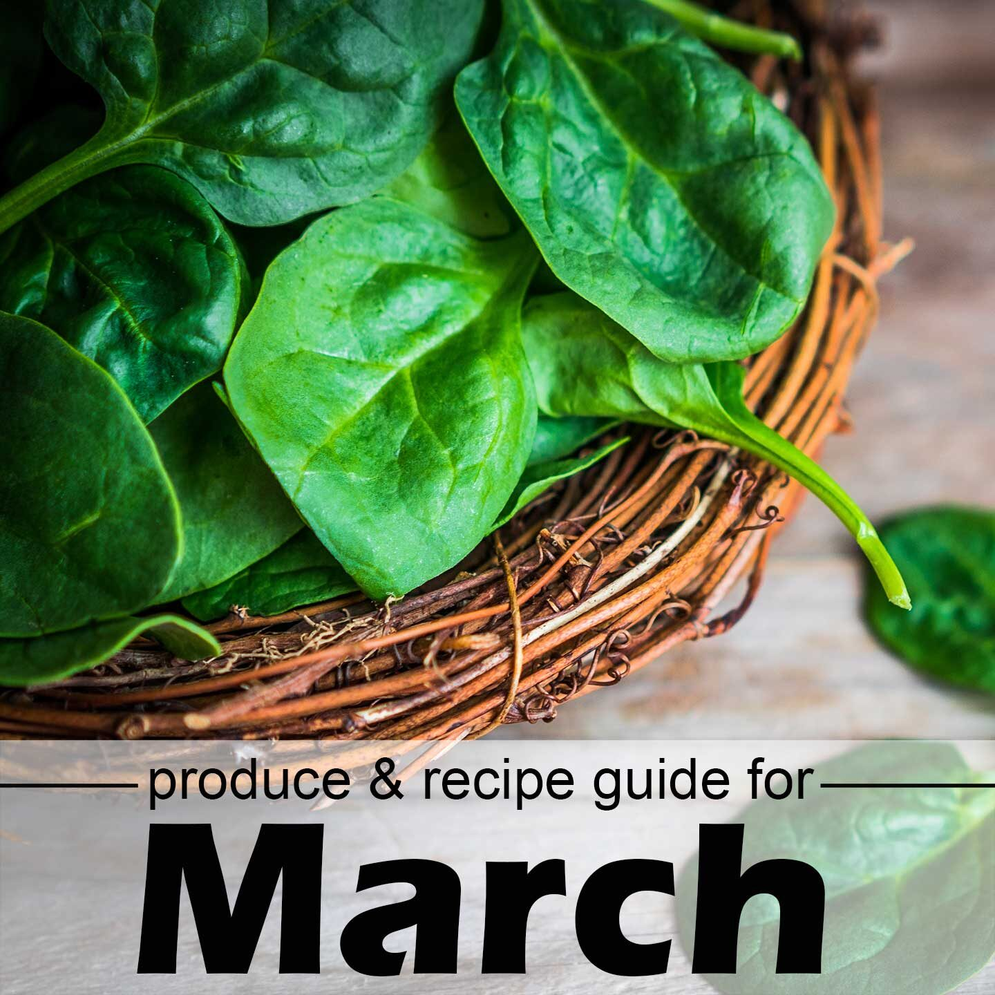 March spinach