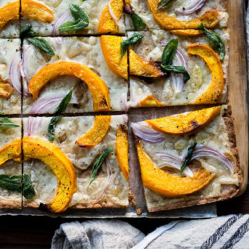 Pumpkin flatbread - The Bojon Gourmet