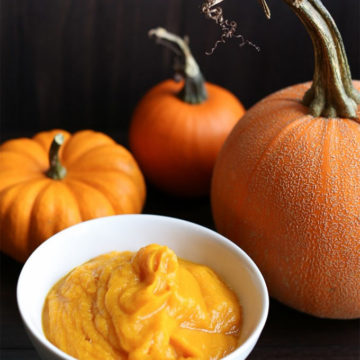 How to make pumpkin puree - Vanilla and Bean