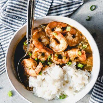 Shrimp etoufee by House of Nash Eats