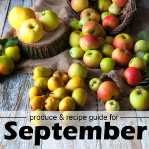 September fruit & vegetable guide
