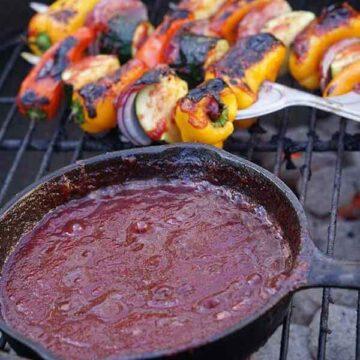 Homemade plum BBQ sauce recipe by Bowl me Over