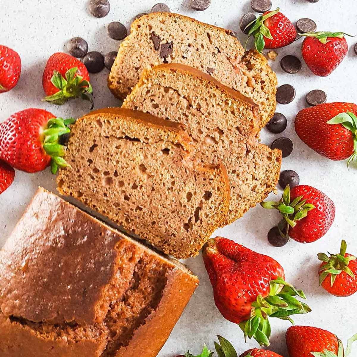 strawberry recipes - bread
