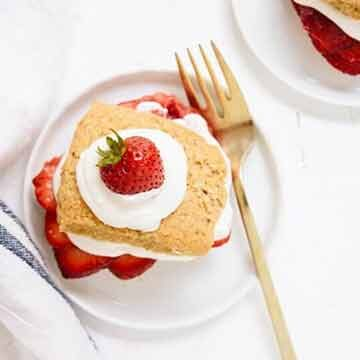 Healthier strawberry shortcakes by Cookie + Kate