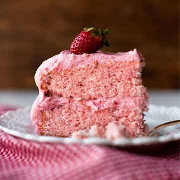 Strawberry cake recipe by Sally's Baking Addiction
