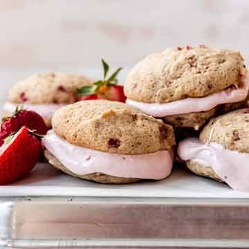 strawberry whoopie pies by House of Nash Eats and Imperial Sugar