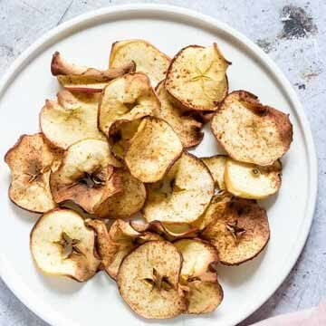 Air fryer apple chips by Recipes from a Pantry