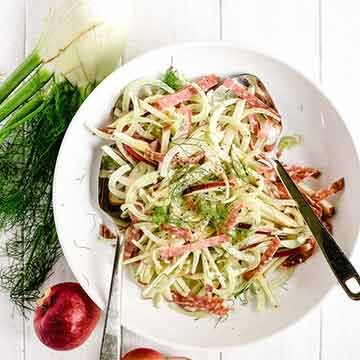 Apple, fennel, and salami salad recipe by The View from Great Island