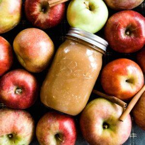 Cinnamon & brown sugar applesauce