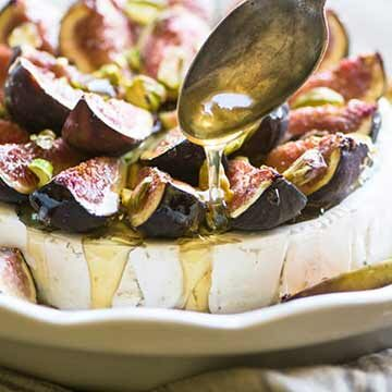 Baked brie with figs & honey by The View from Great Island