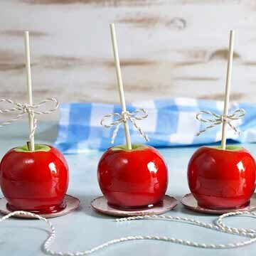 candy apples recipe by The Surburban Soapbox