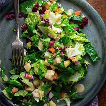 Chopped winter salad with apples from Healthy Seasonal Recipes