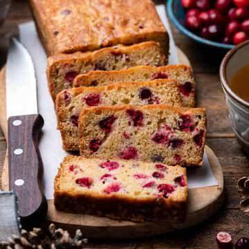 Cranberry tea cake recipe by Kitchen Confidante