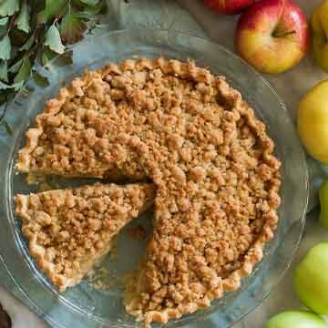 Dutch apple pie recipe by Cooking Classy