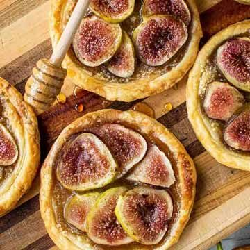 Fig tartlets recipe by Marcellina In Cucina