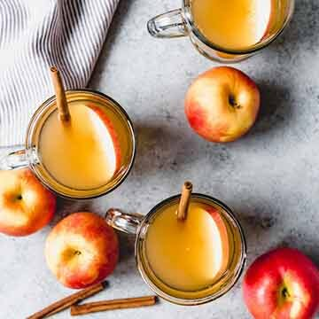 Slow cooker homemade apple cider recipe by House of Nash Eats