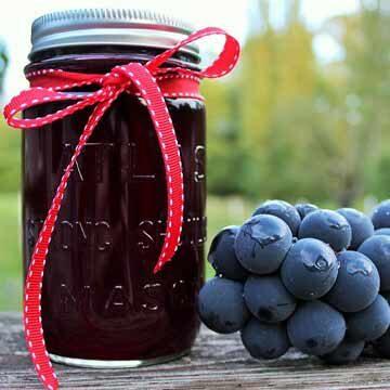 Homemade grape juice by Homemade Food Junkie