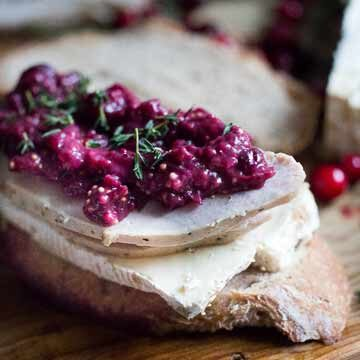 Turkey grilled cheese sandwich with cranberry mustard recipe by Feasting At Home