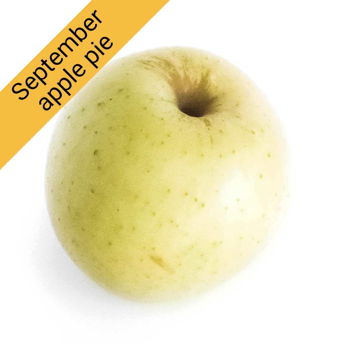 Best apples for pies in September: Golden Supreme